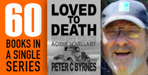 Peter C. Byrnes celebrates publishing 60 free ebooks in a single series
