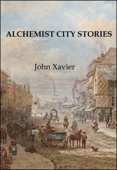 Steampunk book cover: Alchemist City Stories