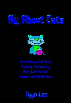 Book cover: All About Cats, by Tygo Lee