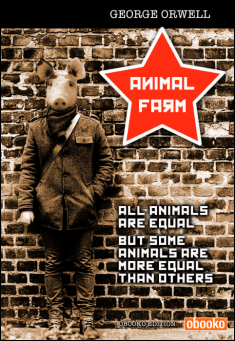 Book cover: Animal Farm