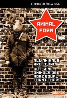 Book cover: Animal Farm