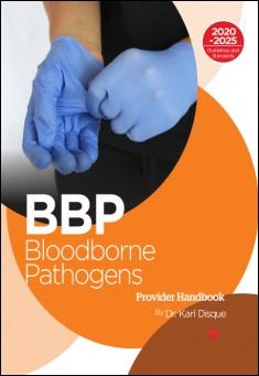 Book cover: Bloodborne Pathogens (BBP) handbook