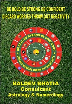 Be Bold Be Strong Be Confident - Discard Worries Throw out Negativity. By Baldev Bhatia