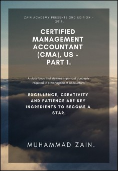 Book cover: Certified Management Accountant (CMA) - Part 1.