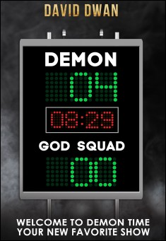 Book cover: Demon: Four, God squad: Nil