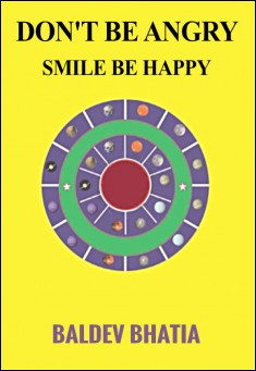 Book cover: Don't be Angry,  Always Smile and Be Happy