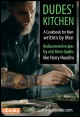 Book cover: dudes Kitchen cookbook for men