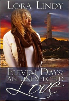 Thriller Book Cover: Eleven Days: An Unexpected Love