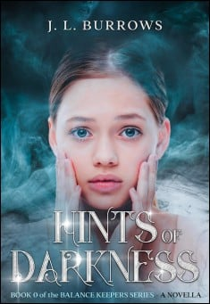 Book cover: Hints of Darkness