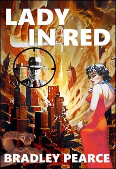 Book cover: Lady In Red, by Bradley Pearce