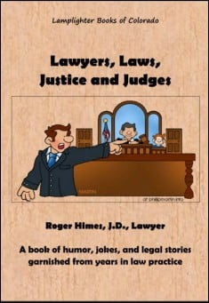 Book cover: Lawyers, Laws, Justice and Judges