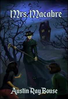 Book cover: Mrs. Macabre