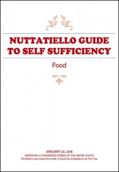 Book cover: Nuttatiello Guide to Self Sufficiency: Food