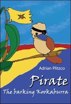 Pirate - The barking Kookaburra by Adrian Plitzco
