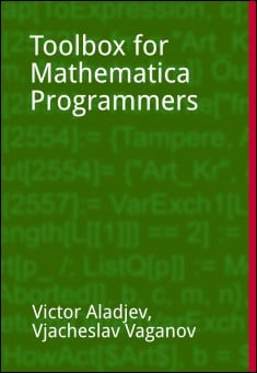 Book cover: Toolbox for the Mathematica programmers