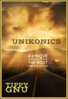 Unikonics . By Tippy Gnu. Book cover.