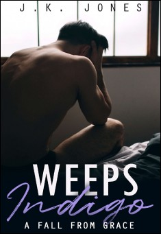 Book cover: Weeps Indigo: A Fall from Grace