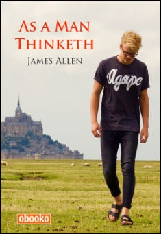 Book cover: As a Man Thinketh