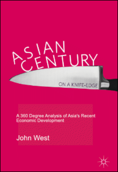 Book cover: Asian Century… on a Knife-edge