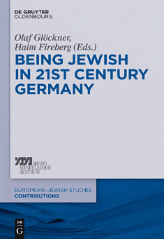 Book cover: Being Jewish in 21st-Century Germany