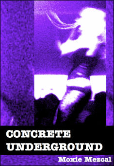 Book cover: Concrete Underground, by Moxie Mezcal