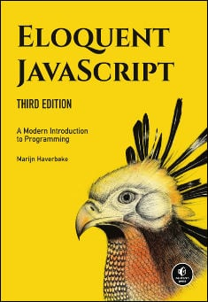 Book cover: Eloquent JavaScript