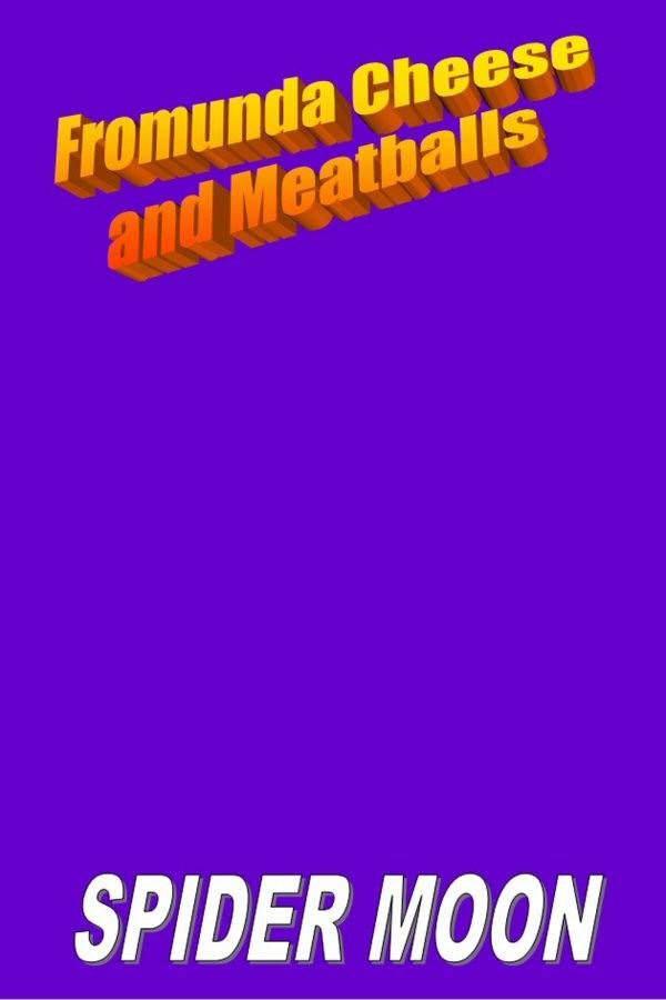 Book cover: Fromunda Cheese and Meatballs. By Spider Moon
