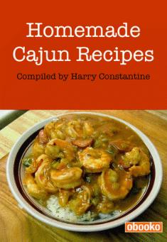 Book Cover: Homemade Cajun Recipes