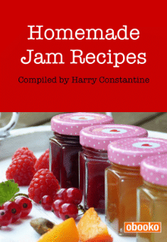 Book cover: Homemade Jam Recipes
