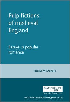 Book cover: Pulp fictions of medieval England