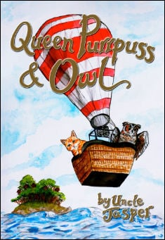 Book cover: Queen Purrpuss & Owl