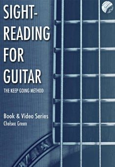 Book cover: Sight-Reading for Guitar