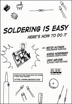 Book cover:  Soldering is Easy!