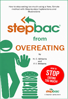 Book cover: Stepbac from Overeating