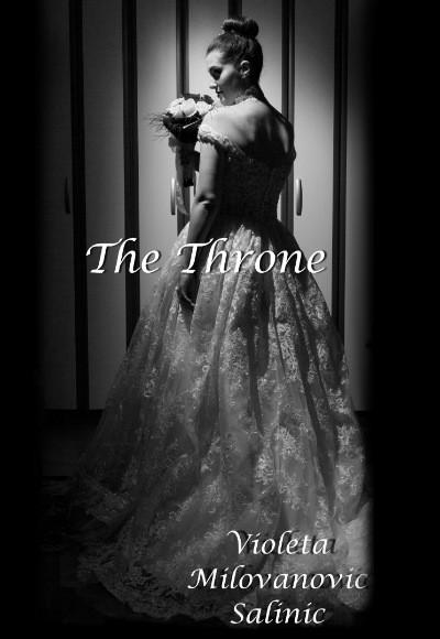Book cover: The Throne. Poetry by Violeta Milovanovic Salinic