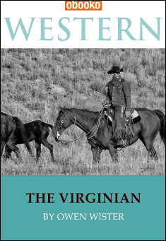 Book cover: The Virginian