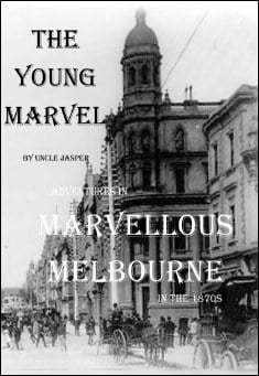Book cover: The Young Marvel. By Uncle Jasper
