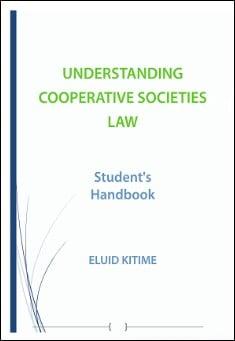 Book cover: Understanding Cooperative Societies Law