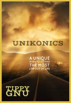 Unikonics . By Tippy Gnu. Book cover.