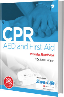 The CPR, AED and First Aid handbook is FREE on Obooko.