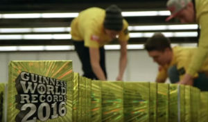 Amazing Guinness World Records about Books